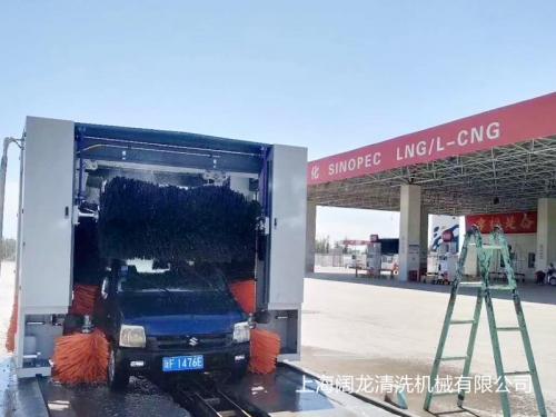 中国石化加油站-新疆伊梨第二台安装调试完毕