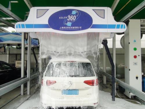 天津旋7-360(旗舰型)洗车机(优惠10000元)